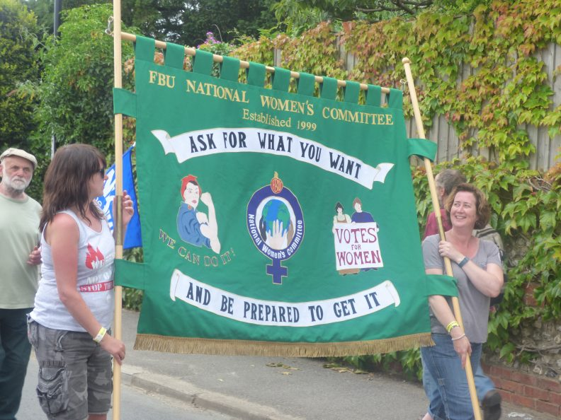 On the march at Tolpuddle