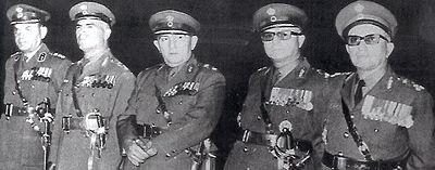 Members of the Greek military junta of 1967